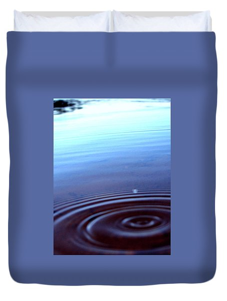 Ripple Effect Duvet Cover