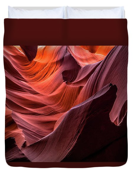 Ripple Of Color Duvet Cover