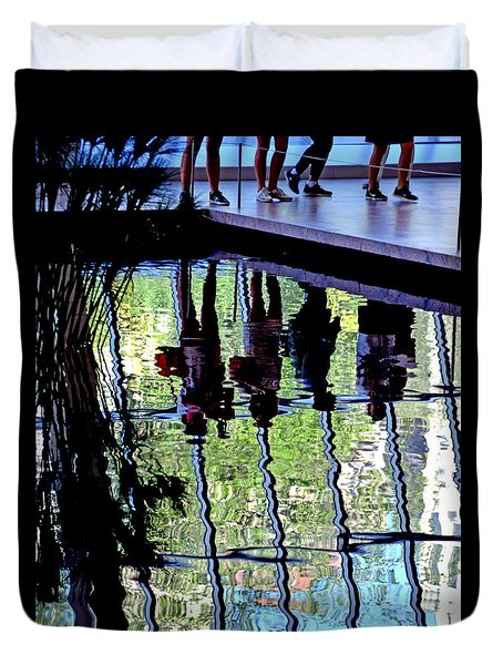 Ripples Duvet Cover by David Gilbert