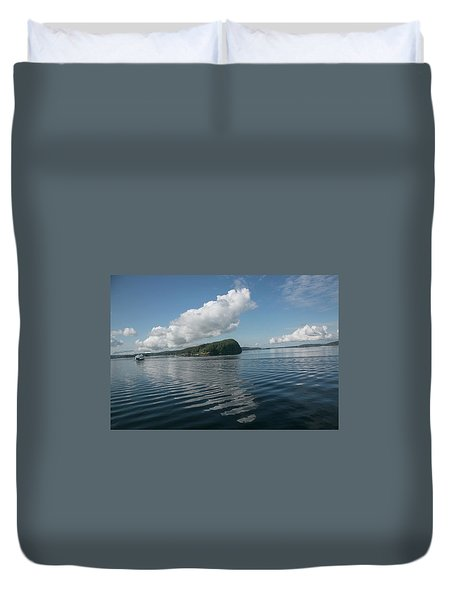 Duvet Cover featuring the photograph Ripples by Elvira Butler