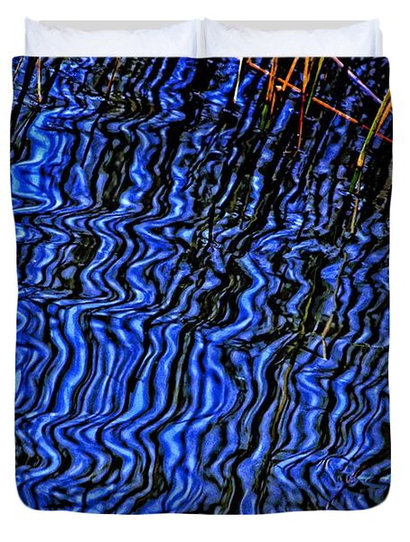 Ripples In The Water Duvet Cover