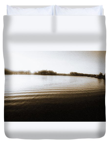 Ripples Duvet Cover by Thomas Bomstad