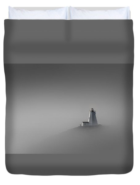 Rise Above Duvet Cover by Peter Scott