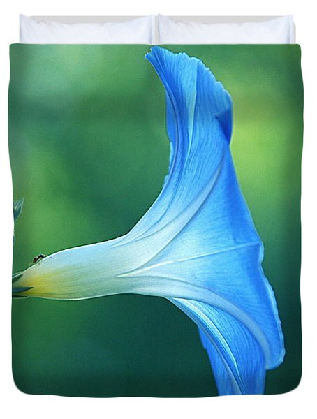 Duvet Cover featuring the photograph Rise And Shine by Byron Varvarigos