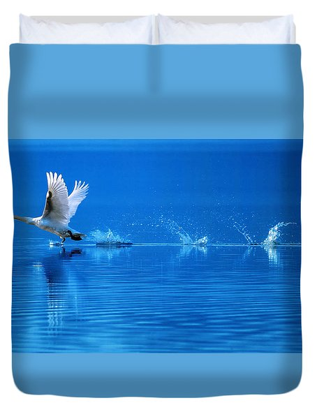 Rise Of Flight 2 Duvet Cover