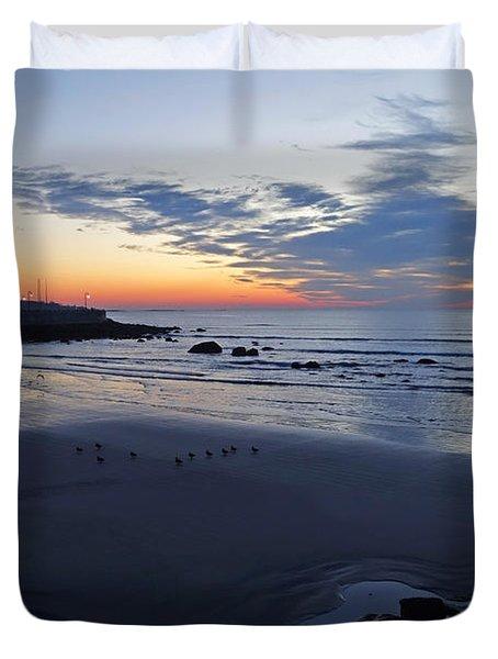 Rise Of The Phoenix Over King's Beach Lynn Ma Duvet Cover