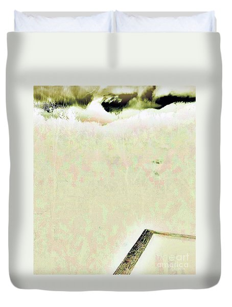 Rise Of The Silver Mists Duvet Cover