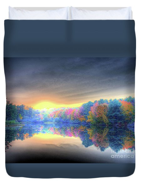 Rise Today Duvet Cover