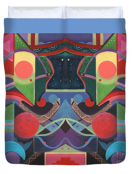 Rising Above And Synergy 3 Duvet Cover