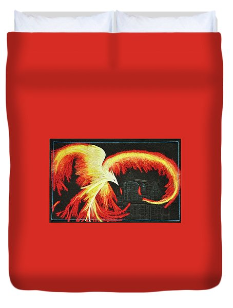 Rising From The Ashes Duvet Cover