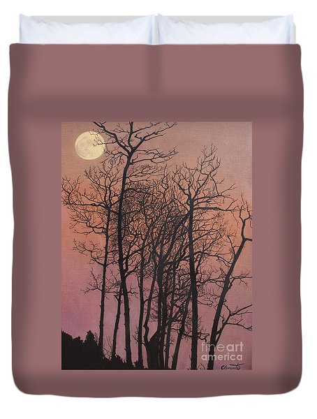 Rising Of The Moon  Duvet Cover