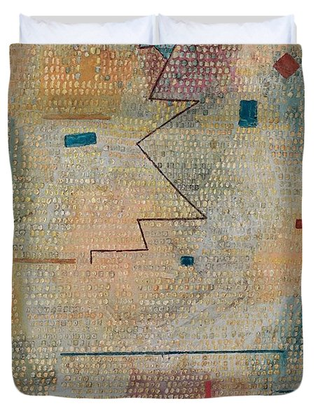 Rising Star  Duvet Cover by Paul Klee