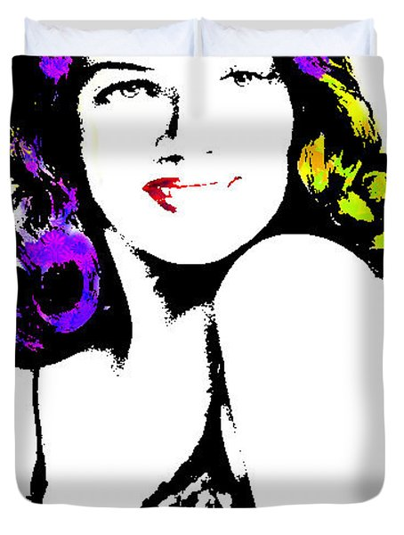 Rita Hayworth 2 Duvet Cover