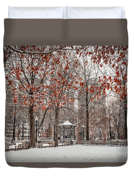 Rittenhouse Snowscape Duvet Cover