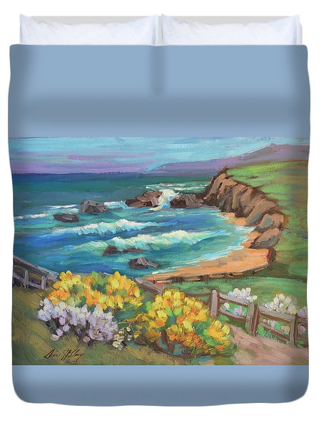 Ritz Carlton At Half Moon Bay Duvet Cover