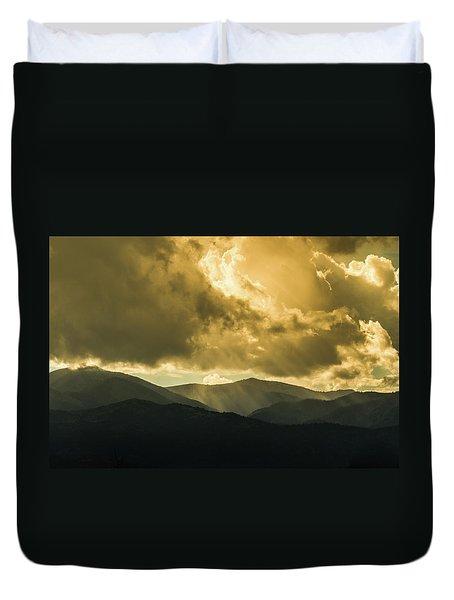Ruidoso Rays Duvet Cover