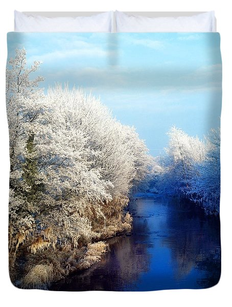 River Bann, Co Armagh, Ireland Duvet Cover by The Irish Image Collection