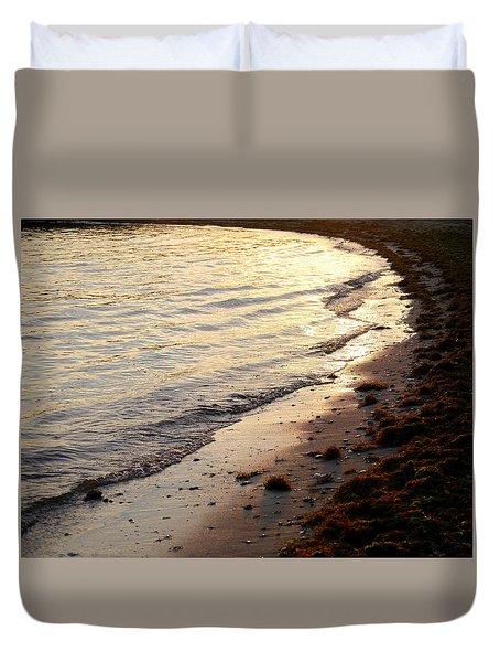 River Beach Duvet Cover