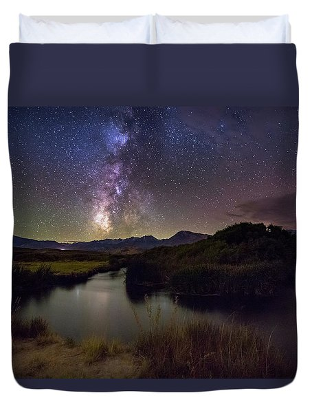 River Bend Duvet Cover by Tassanee Angiolillo