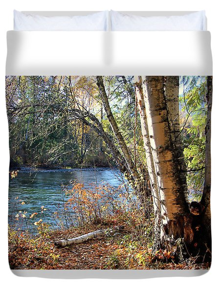 River Birch Duvet Cover