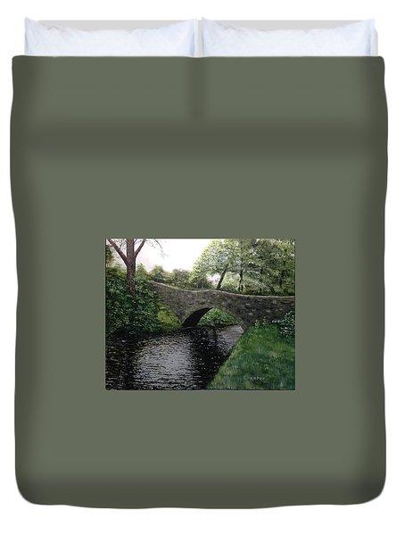 River Bridge Duvet Cover