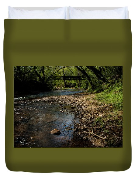 River Bridge Duvet Cover