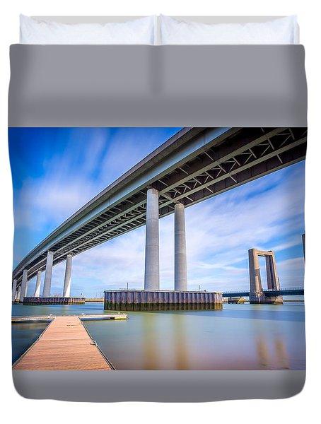 River Bridges Duvet Cover