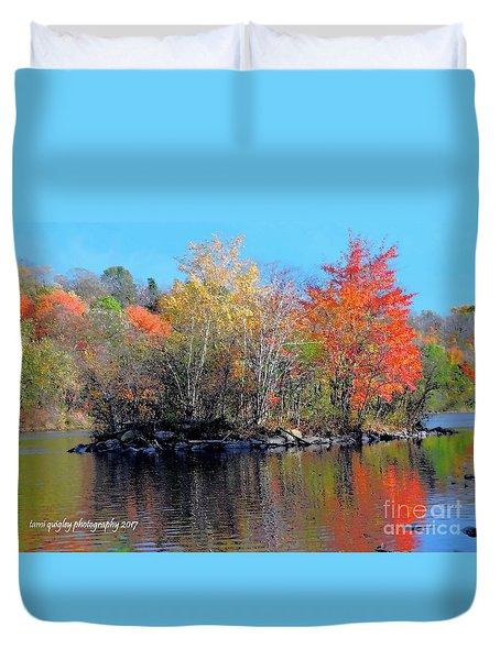 River Color Duvet Cover