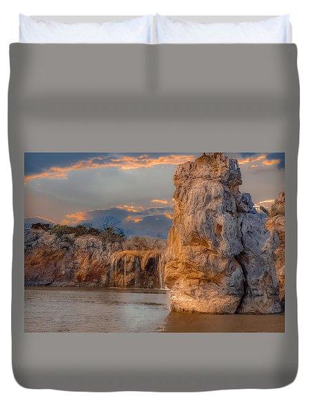 River Cruise Duvet Cover