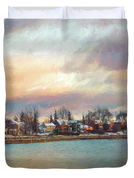 River Dream Duvet Cover
