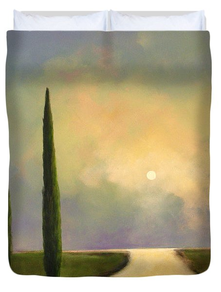 River Dreams Duvet Cover by Toni Grote