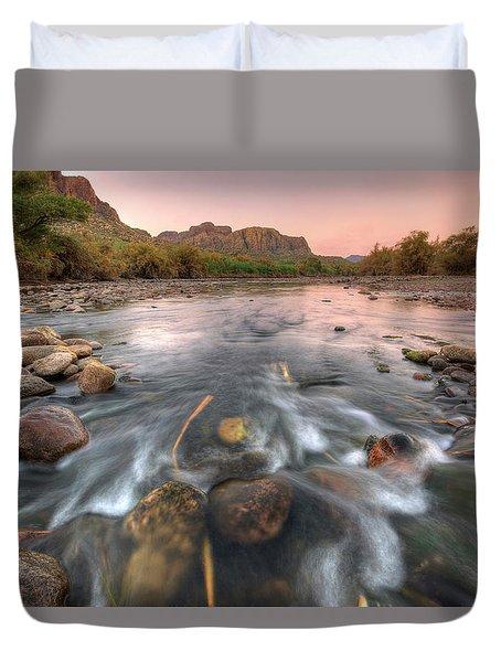River Flow Duvet Cover