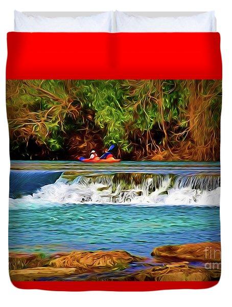 River Good Times 121217-1 Duvet Cover