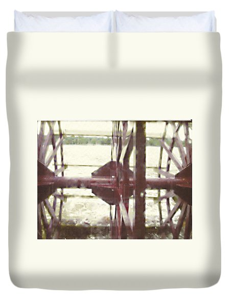 River Lady Duvet Cover