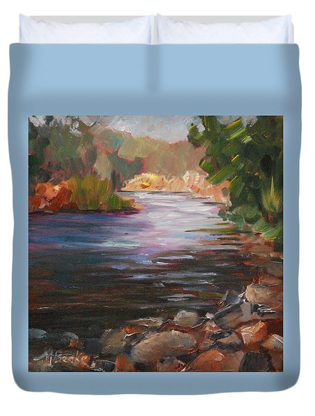 River Light Duvet Cover