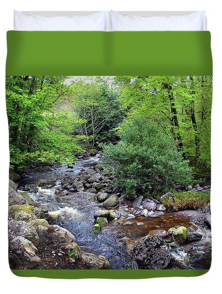 River Mahon Waterford Ireland..jpg Duvet Cover