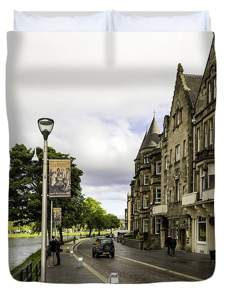 River Ness Duvet Cover by Fran Gallogly