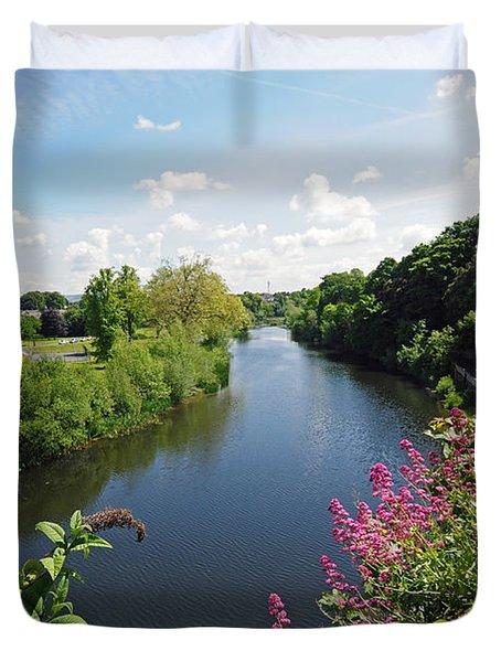 River Nore Kilkenny Ireland Duvet Cover