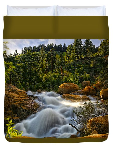 River Of Dreams Duvet Cover