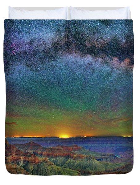 River Of Stars Duvet Cover
