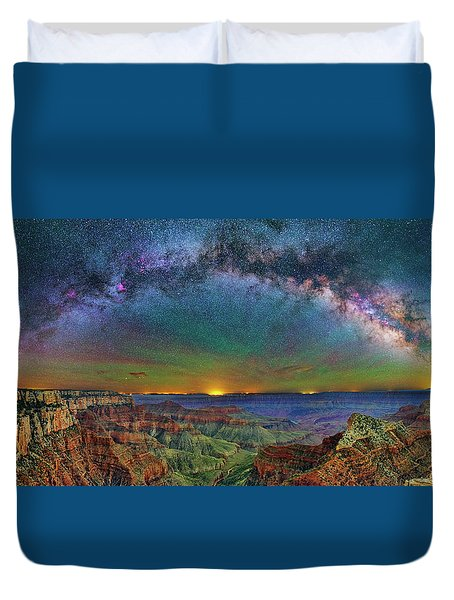 River Of Stars Duvet Cover