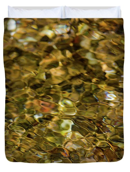 River Pebbles Duvet Cover