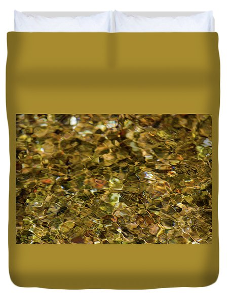 River Pebbles Duvet Cover