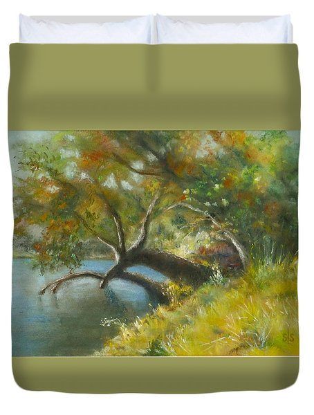 River Reverie Duvet Cover