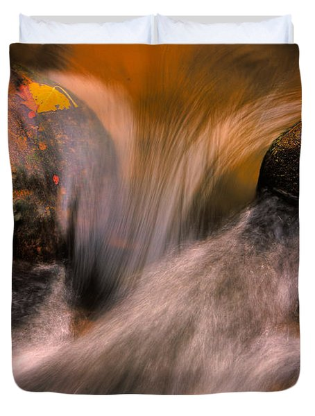 River Rocks, Zion National Park Duvet Cover