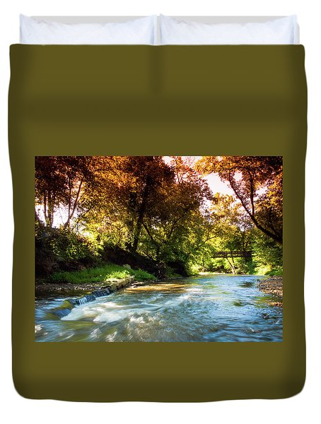 River Run Duvet Cover
