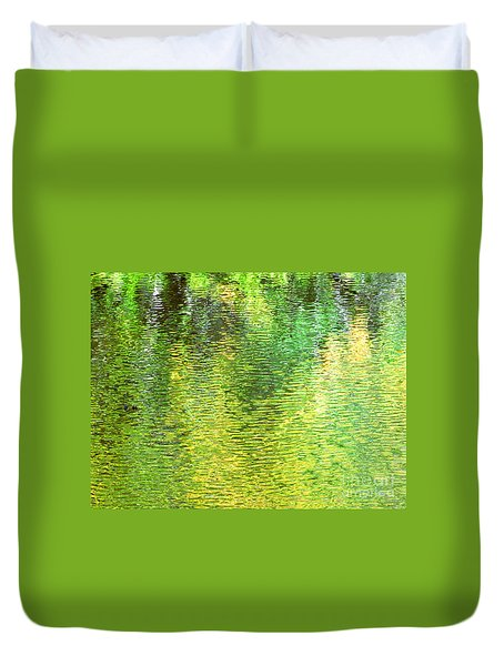 River Sanctuary Duvet Cover