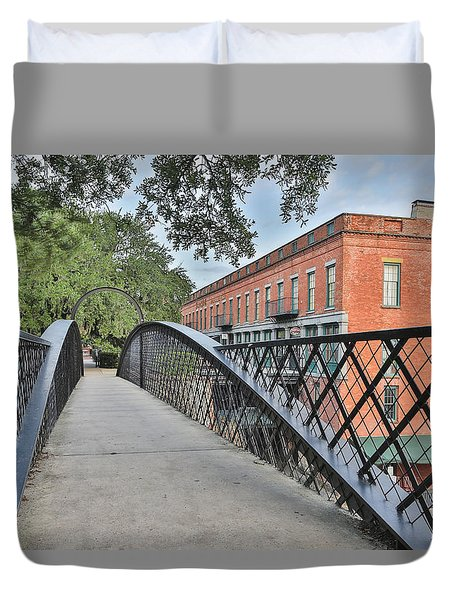 River Street Connection Duvet Cover