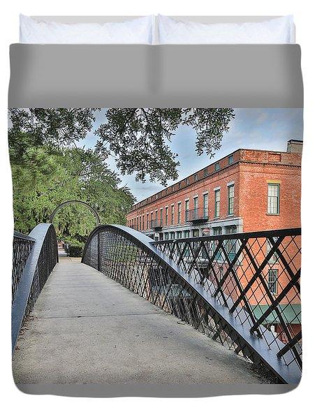 River Street Connection Duvet Cover
