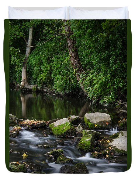 River Tolka Duvet Cover